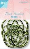 Boekbinders-ringen 45mm, 12st Antiek Koper 6200/0133