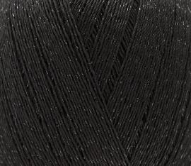 Rico Essentials Crochet Glitz Schwarz 008