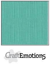 CraftEmotions Linnenkarton A4 Formaat 10 vel - Saliegroen pastel