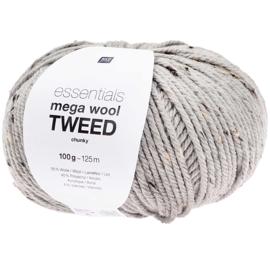 Rico Essentials -  Mega Wool Tweed  383288.004 -  Grijs