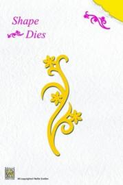 Nellie Snellen Shape Dies - Flower  Swirl SD 002