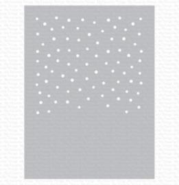 My Favorite Things Snowfall Vertical Stencil (ST-126)