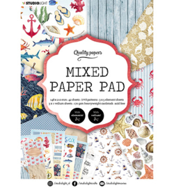Studio Light - Mixed Paper Pad Pattern paper Essentials nr. 7