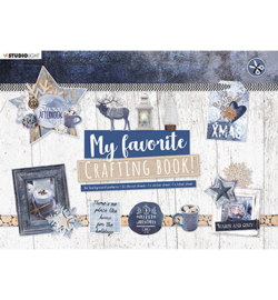 STANSBLOKSL95 - Crafting Book Snowy Afternoon Elements