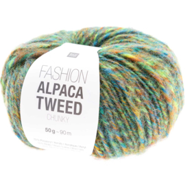 Rico Fashion Alpaca Tweed Chunky  - 383274.007  - Green
