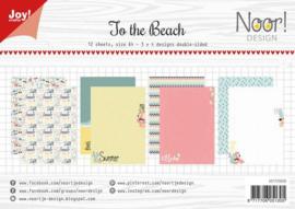 Joy! Crafts Paper set A4 Noor   Design To the beach 6011/0658 -