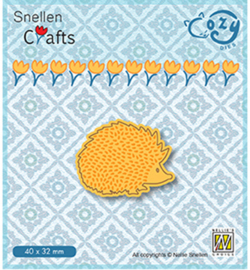 Nellie Crafts Cozy Dies - Hedgehog - SCCOD011