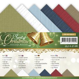 Linnenpakket - Vierkant - Precious Marieke - Spirit Christmas