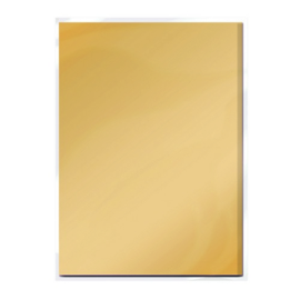 Tonic Studios Spiegelkarton A4  - Mat - Honey Gold