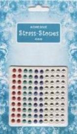 Strass Stones 4 mm 09.0312.004 Rood-Groen-Blauw-Geel