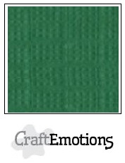CraftEmotions Linnenkarton 27 x 13,5 cm Loofgroen 001235/1025