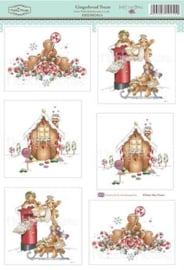 The Hobby House Stansvel - HHDMD014 - Gingerbread Treats