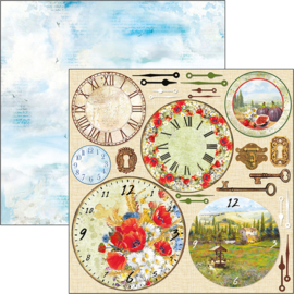 Ciao Bella - Clocks - 30,5 X 30,5 CM - CBSS102