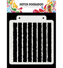 Dutch Doobadoo Mask Art -  Grunge Strip  -  470.715.149