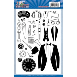 Clear Stamps - Yvonne Creations - Big Guys - Workers