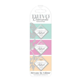 Nuvo - Diamonds Hybrid Ink Pads - Dream In Colour  - 84N