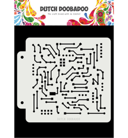 Dutch Doobadoo Mask Art -  Motherboard -  470.715.145