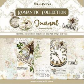 Stamperia- Romantic Journal - Paper Pack - 20.3 x 20.3 cm