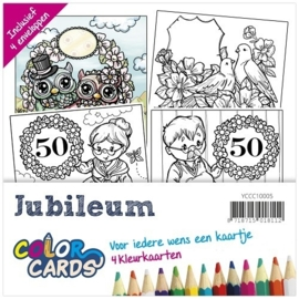 Yvonne Creations Color Cards 5 - Jubileum - YCCC10005