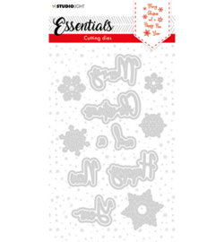 SL Cutting Die Christmas Merry Christmas ENG 1 Essentials nr.60