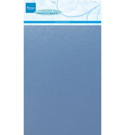 Marianne Design Decoration Paper - Metallic Light Blue  - CA3141