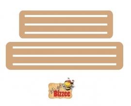 Let`s get Bizzee  Houder voet 2 stuks  MDF 812302/2290