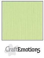 CraftEmotions Linnenkarton A4 Formaat 10 vel - Kiwi