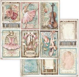 Stamperia- Passion- Cards  - Paper - 30.5 x 305 cm