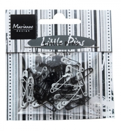 Marianne Design Little Pins Black & White JU0944