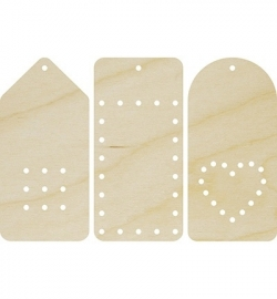 Dutch Doobadoo Poplar Plywood Embroidery Labels 412.001.370
