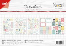 Joy!Crafts - Labelvellen - Noor - Design To the beach-6011/0428