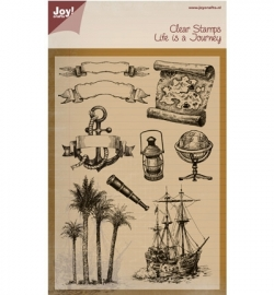 Noor!Design Clear Stamps Life is a Journey 6410/0394