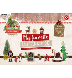 STANSBLOKSL96 - SL MF Crafting Book Traditional Christmas Elements,