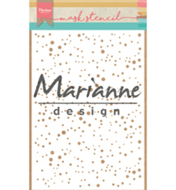 Marianne Design Mask Stencil - Snow Flakes  PS8012