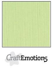 CraftEmotions Linnenkarton 27 x 13,5 cm Kiwi 001235/1045