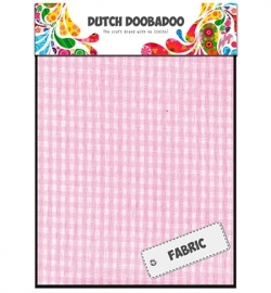 Dutch Doobadoo Pink Check Sheets 400.903.012