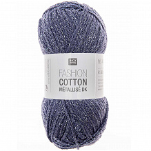 Rico Fashion Cotton Métallisé 016 Saphir