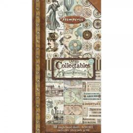 Stamperia - Voyages Fantastiques - Paper Pack - 15 x 30.5 cm