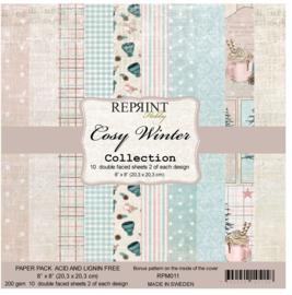 Reprint - Cozy Winter Collection - 20,3 x 20,3 cm.