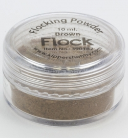 Flocking Powder Brown 390182