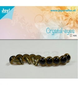 Joy!Crafts Crystal-eyes 10 mm Beige