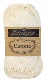 Scheepjeswol Catona 50 gram - 130 Old Lace