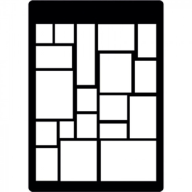 Creative Expressions - Mini Stencil - Tiles.