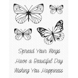 My Favorite Things -Clear Stamps -  Spread Your Wings