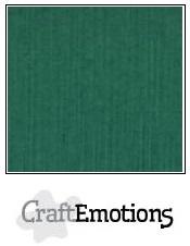 CraftEmotions Linnenkarton 27 x 13,5 cm Kerstgroen 001235/1020