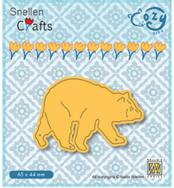 Nellie Crafts Cozy Dies - Bear - SCCOD012