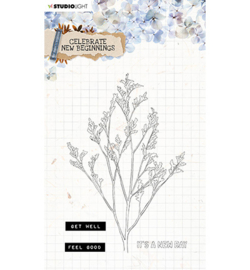 SL Clear Stamp Celebrate new beginnings nr.514