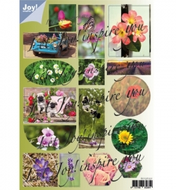 Joy!Crafts Stansvel Bloemen 6013/0331 - 2 sheets