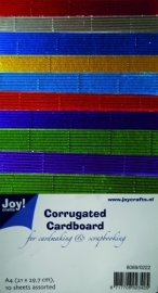 Joy! Crafts Ribbelkarton Metallic 8089/0222