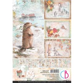 Ciao Bella -The Gift of Love -Creative Pad - A4 -CBCL047